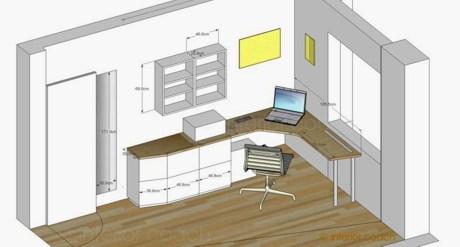 home office auf kleinstem raum interior coach brigitte peter innenarchitektur interior. Black Bedroom Furniture Sets. Home Design Ideas