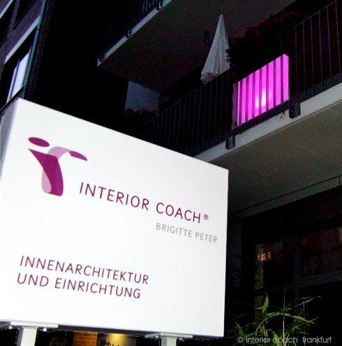 Balkongestaltung mit magisch stimmungsvollem licht interior coach brigitte peter - Innenarchitektur frankfurt ...