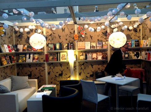 Messestandgestaltung Regal Literary NY, Interior Coach Frankfurt