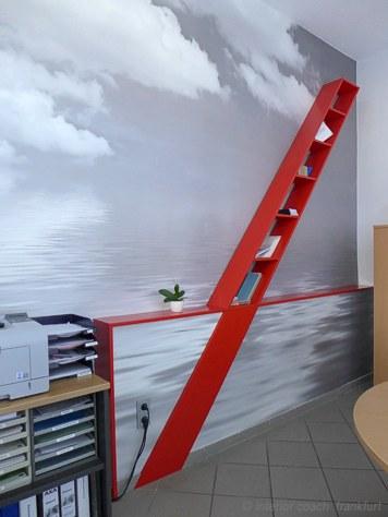 Imagewandel im axa versicherungsb ro interior coach for Innenarchitektur offenbach